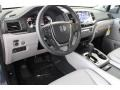2016 Honda Pilot Gray Interior Front Seat Photo
