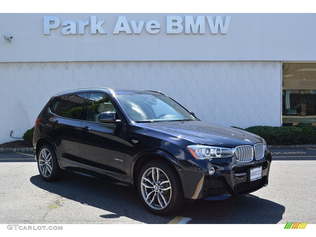 2017 carbon black metallic bmw x3 xdrive35i 115128152 car color galleries. Black Bedroom Furniture Sets. Home Design Ideas