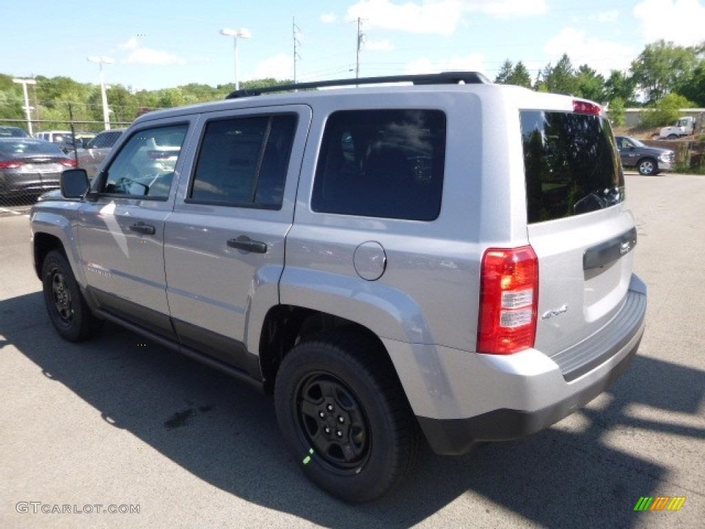2017 Billet Silver Metallic Jeep Patriot Sport 4x4 115128200 Photo 5 Car