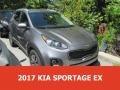 Mineral Silver 2017 Kia Sportage EX