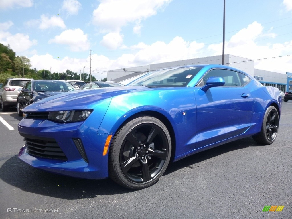 2017 hyper blue metallic chevrolet camaro lt coupe 115128325 car color galleries. Black Bedroom Furniture Sets. Home Design Ideas