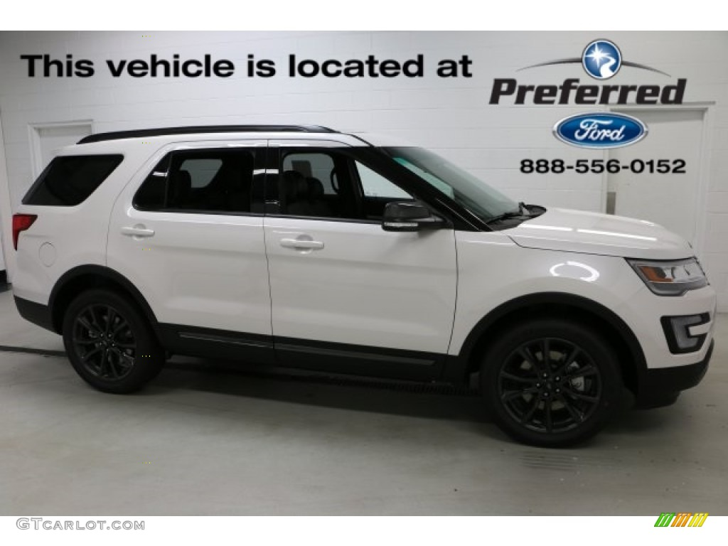 2017 Oxford White Ford Explorer Xlt 4wd 115127961 Gtcarlot Com