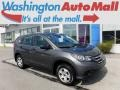2014 Polished Metal Metallic Honda CR-V LX AWD  photo #1