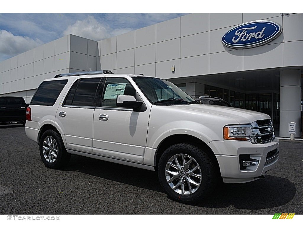 2017 White Platinum Ford Expedition Limited 4x4 115164514 Car Color Galleries
