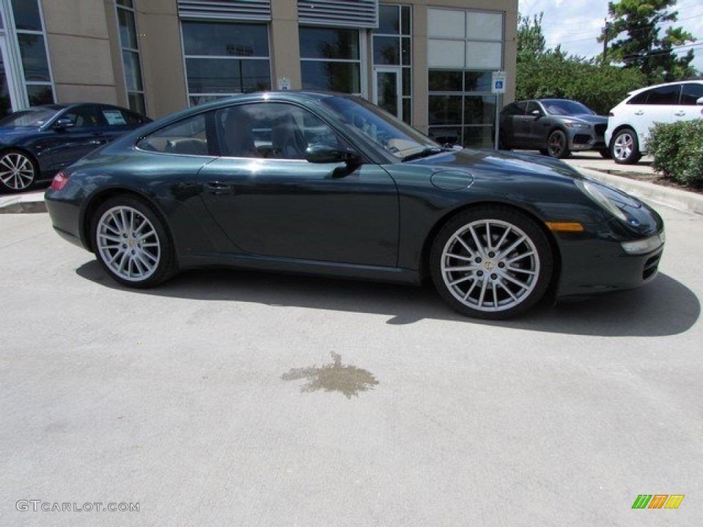 41ca1068463d 2005 Forest Green Metallic Porsche 911 Carrera Coupe  115195153 ...
