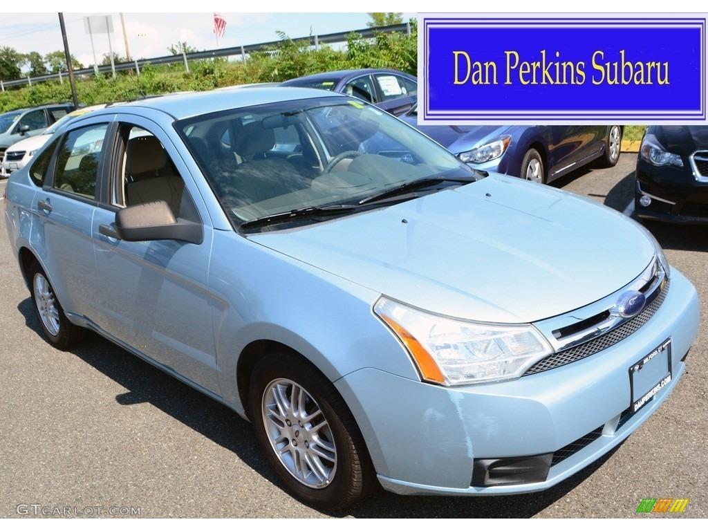 2009 light ice blue metallic ford focus se sedan 115205580 photo 14 car color. Black Bedroom Furniture Sets. Home Design Ideas