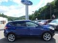 2013 Deep Impact Blue Metallic Ford Escape Titanium 2.0L EcoBoost 4WD #115209022