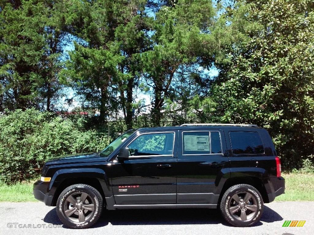2017 black jeep patriot 75th anniversary edition 4x4 115208883 photo 9 car. Black Bedroom Furniture Sets. Home Design Ideas