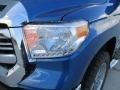 2016 Blazing Blue Pearl Toyota Tundra TSS CrewMax  photo #9