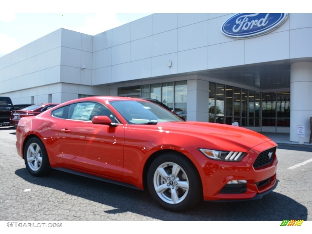 2017 Mustang V6 Coupe Race Red Ebony Photo 1