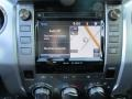 2016 Toyota Tundra Black Interior Navigation Photo