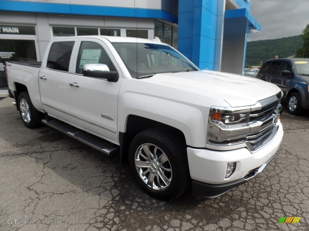 2017 iridescent pearl tricoat chevrolet silverado 1500 high country crew cab 4x4 115272984. Black Bedroom Furniture Sets. Home Design Ideas