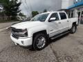 Iridescent Pearl Tricoat 2017 Chevrolet Silverado 1500 High Country Crew Cab 4x4 Exterior