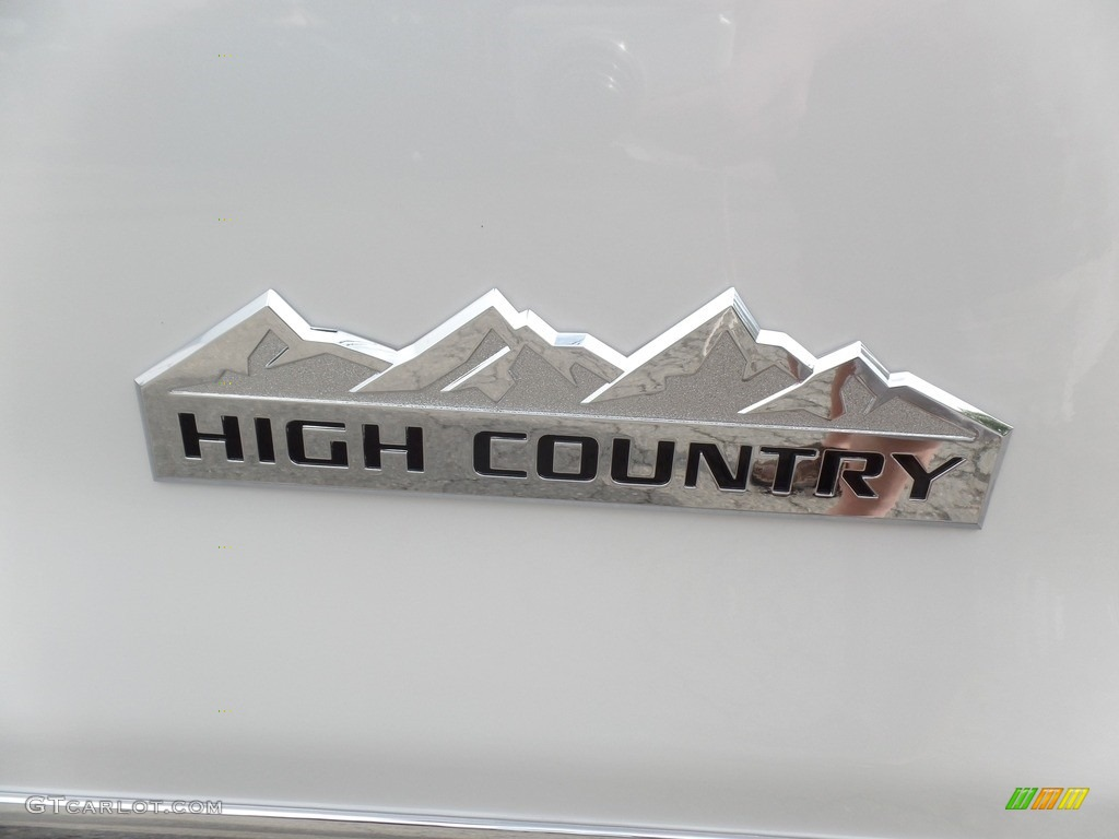 2017 Chevrolet Silverado 1500 High Country Crew Cab 4x4 Marks and Logos Photo #115286944