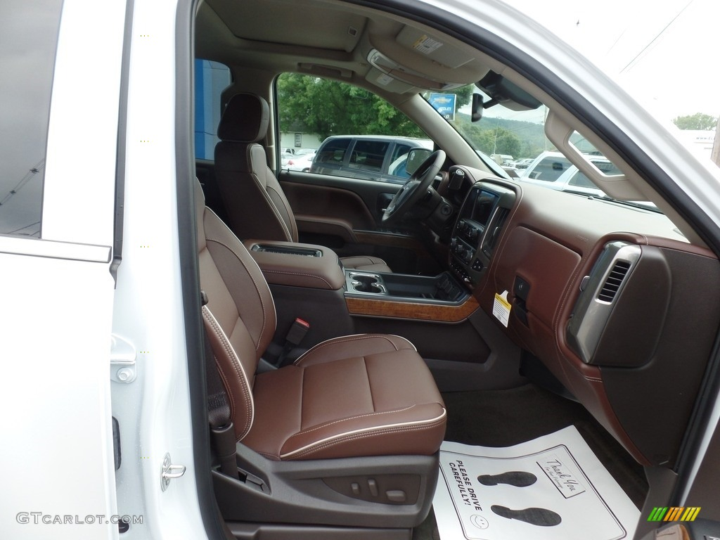 2017 Chevrolet Silverado 1500 High Country Crew Cab 4x4 Front Seat Photo #115287133