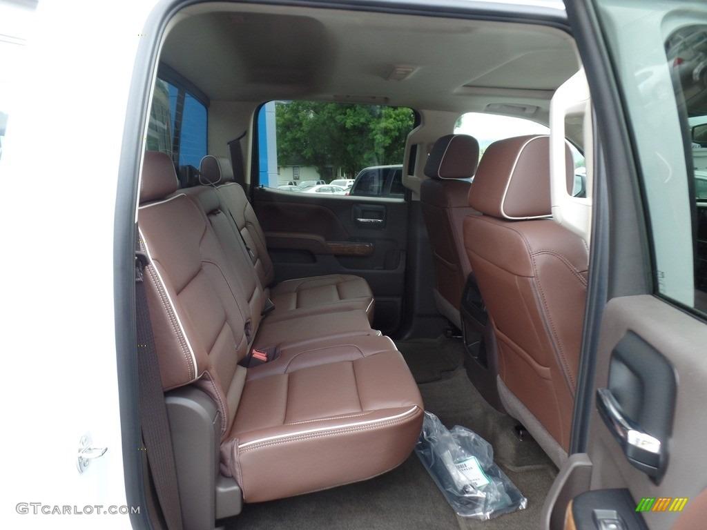 2017 Chevrolet Silverado 1500 High Country Crew Cab 4x4 Rear Seat Photo #115287178