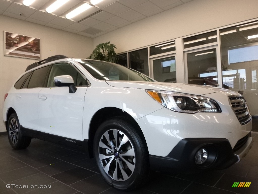2017 Crystal White Pearl Subaru Outback 3.6R Limited ...