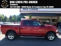 2012 Deep Cherry Red Crystal Pearl Dodge Ram 1500 SLT Crew Cab 4x4  photo #1
