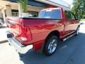 2012 Deep Cherry Red Crystal Pearl Dodge Ram 1500 SLT Crew Cab 4x4  photo #2