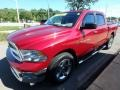 2012 Deep Cherry Red Crystal Pearl Dodge Ram 1500 SLT Crew Cab 4x4  photo #6