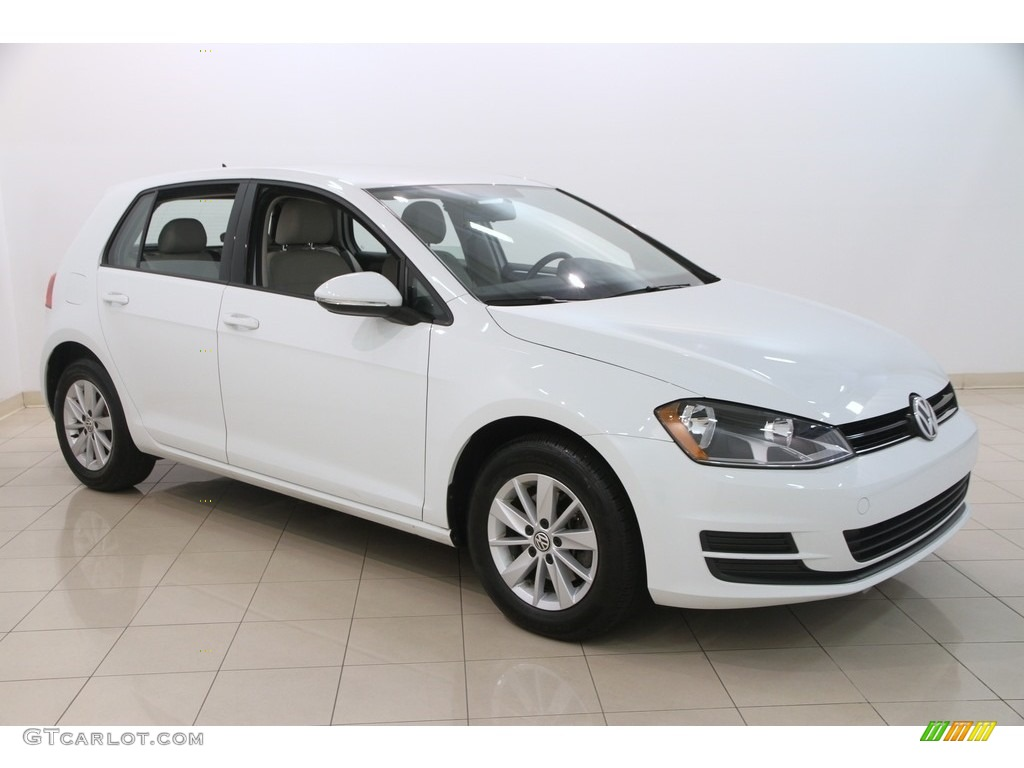 2015 pure white volkswagen golf 4 door 1 8t s 115302811. Black Bedroom Furniture Sets. Home Design Ideas