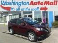 2014 Basque Red Pearl II Honda CR-V EX-L AWD  photo #1