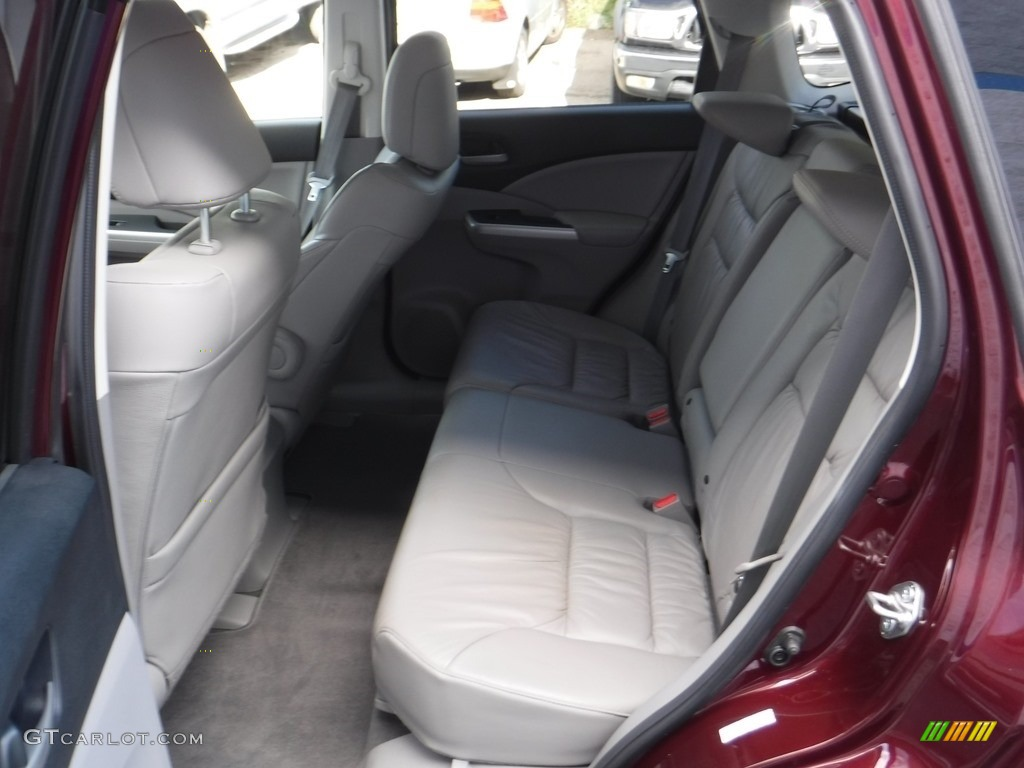 2014 CR-V EX-L AWD - Basque Red Pearl II / Gray photo #21