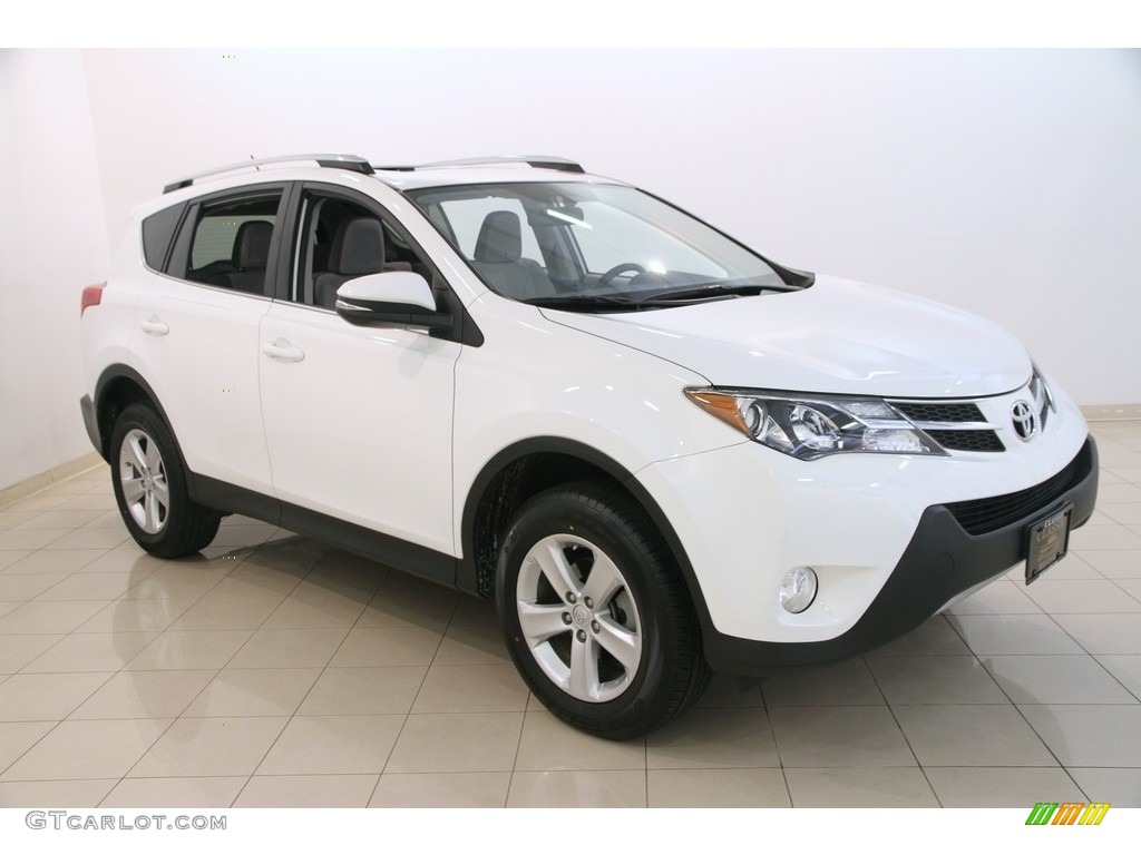 2013 super white toyota rav4 xle awd 115302827 photo 12 car color galleries. Black Bedroom Furniture Sets. Home Design Ideas
