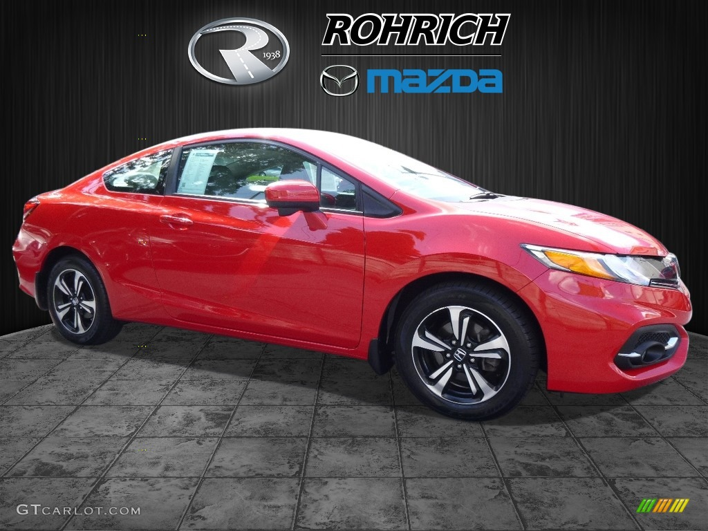 2014 rallye red honda civic ex coupe 115302552 photo 14