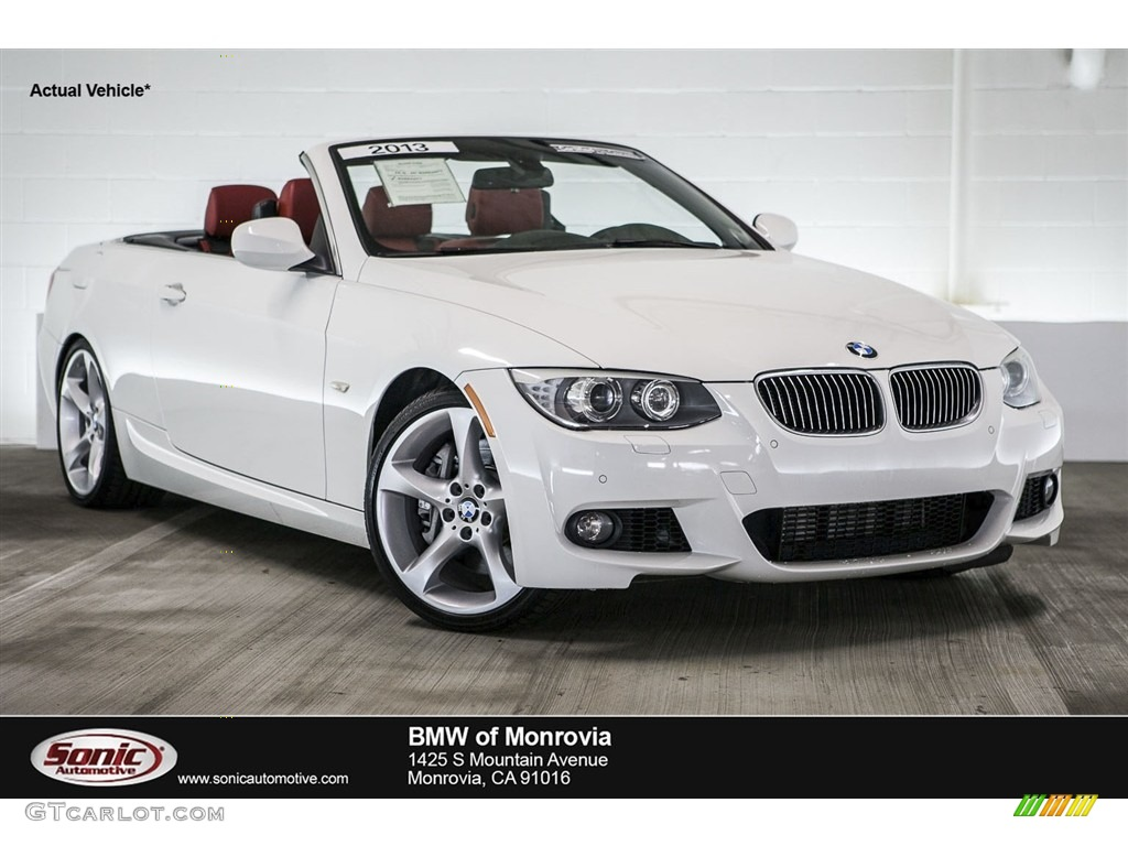 2013 Alpine White Bmw 3 Series 335i Convertible 115330264 Car Color Galleries