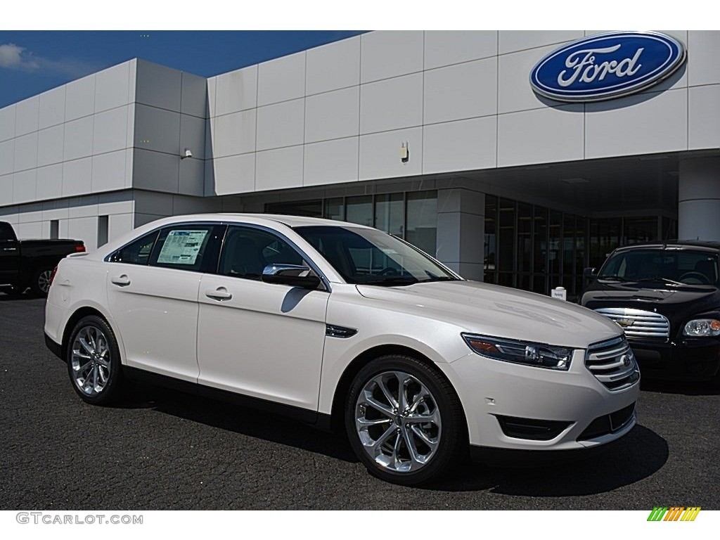 2016 white platinum ford taurus limited 115350274 car color galleries. Black Bedroom Furniture Sets. Home Design Ideas