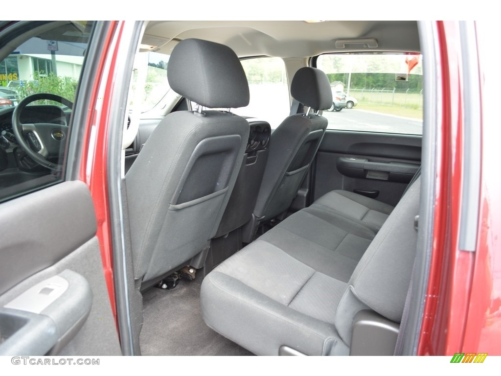2013 Silverado 1500 LT Crew Cab - Deep Ruby Metallic / Light Cashmere/Dark Cashmere photo #21