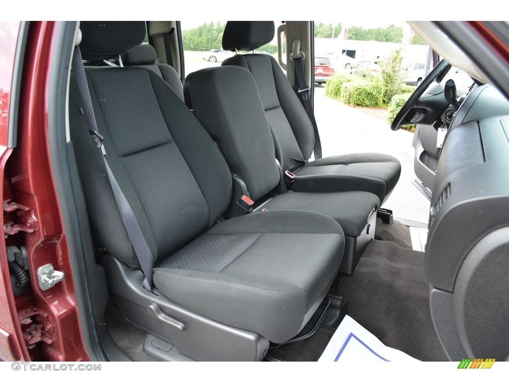 2013 Silverado 1500 LT Crew Cab - Deep Ruby Metallic / Light Cashmere/Dark Cashmere photo #25