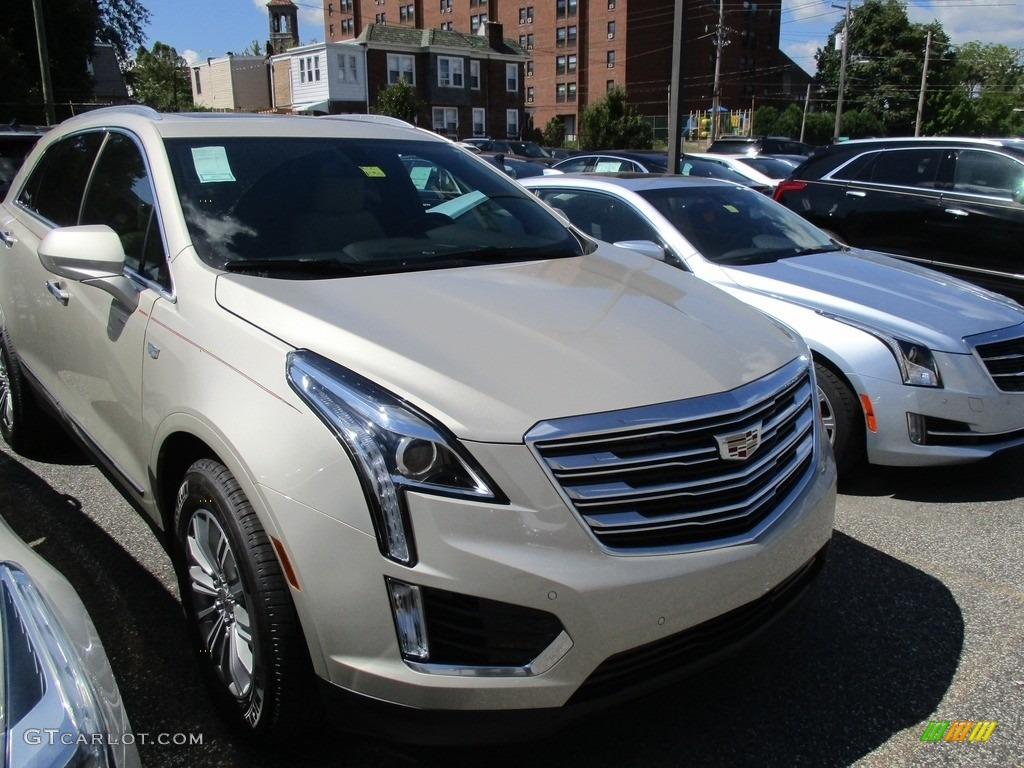 2017 Silver Coast Metallic Cadillac Xt5 Luxury 115370497 Car Color Galleries