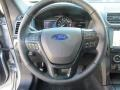 Ebony Black Steering Wheel Photo for 2017 Ford Explorer #115402749