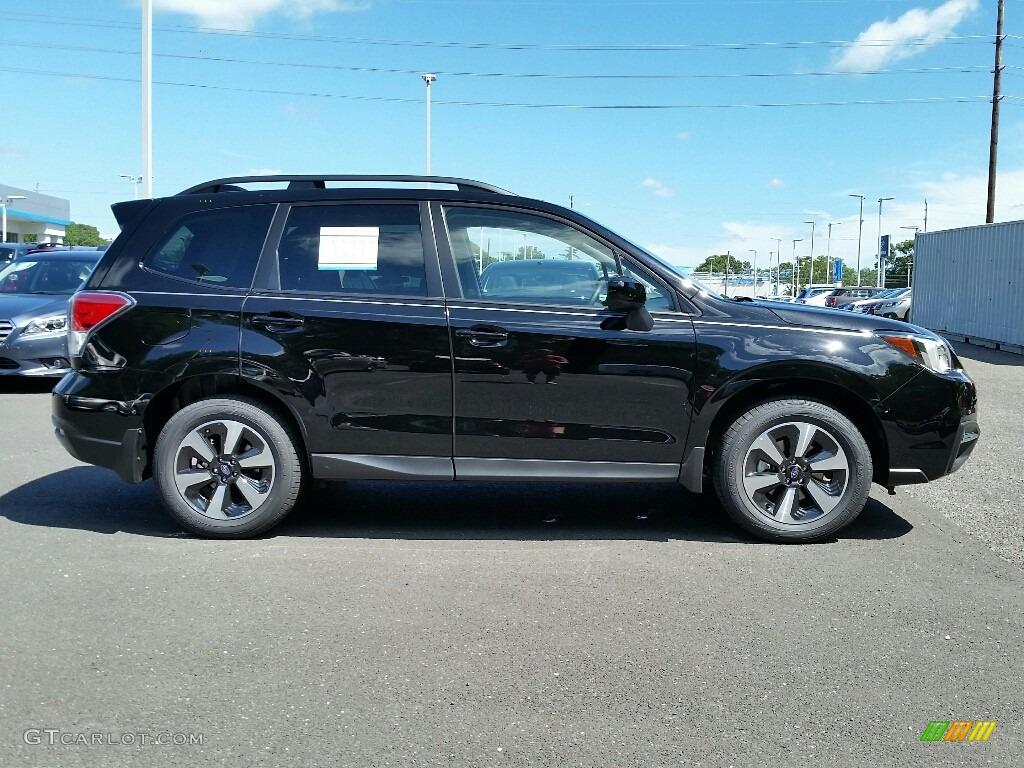 2017 Crystal Black Silica Subaru Forester 2.5i Premium ...