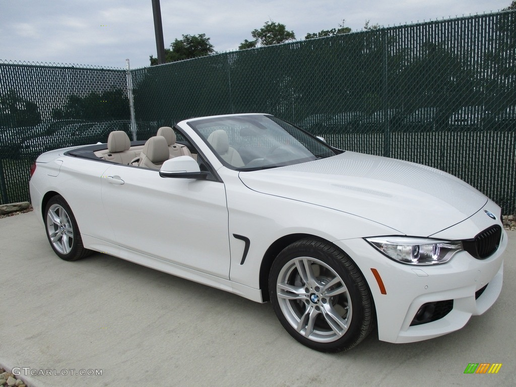 Bmw 428i Convertible 2017 >> 2017 Alpine White BMW 4 Series 440i xDrive Convertible ...