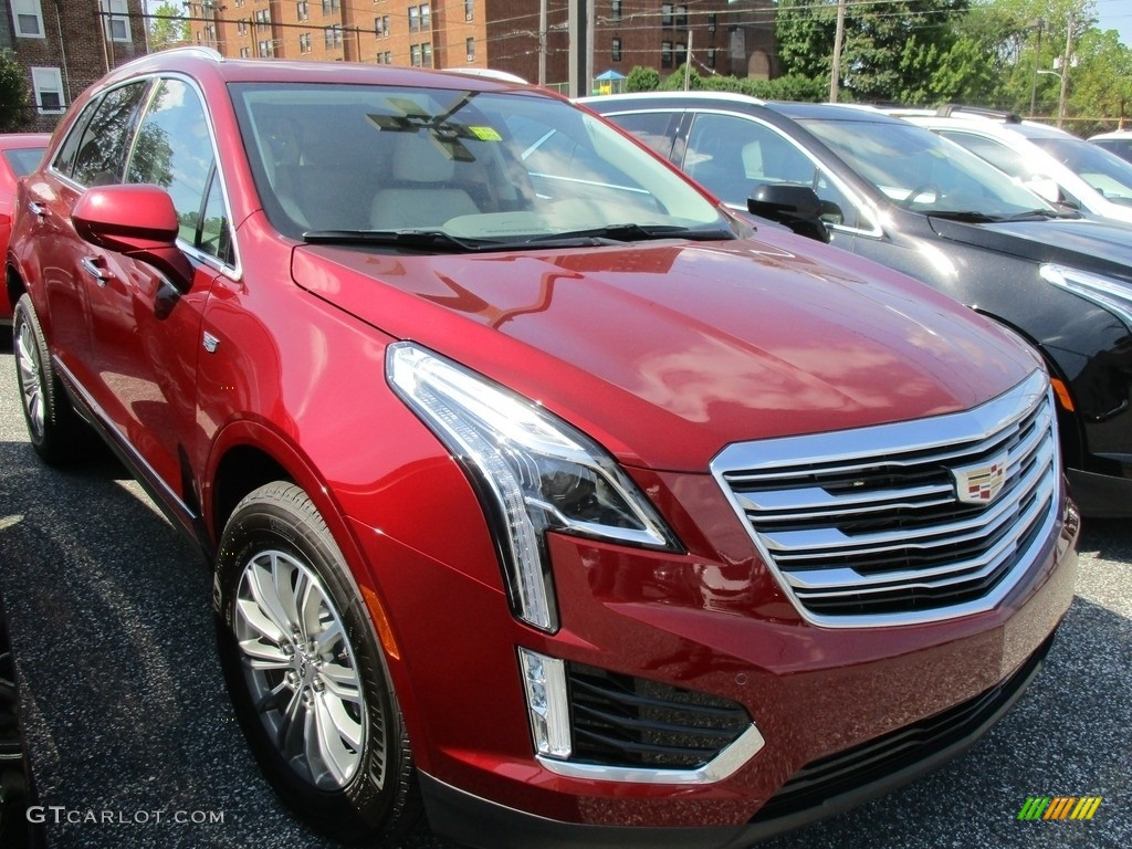 2017 Red Passion Tintcoat Cadillac Xt5 Luxury Awd 115400410 Car Color Galleries