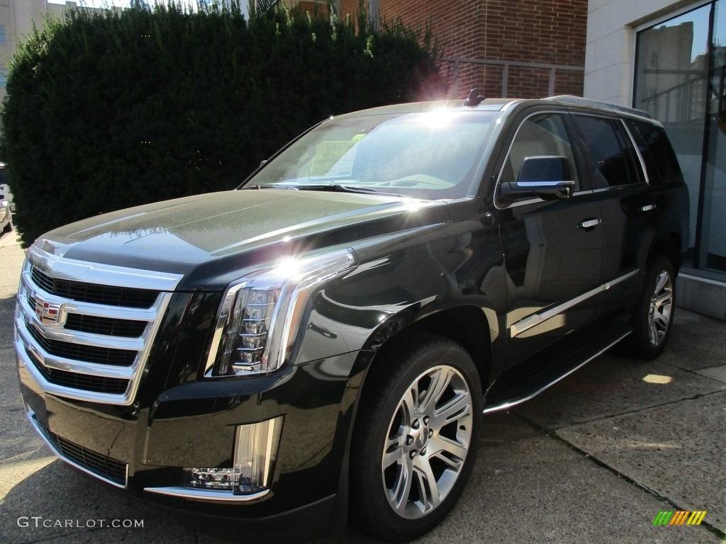 2016 Dark Emerald Metallic Cadillac Escalade Luxury 4wd 115400394 Car Color