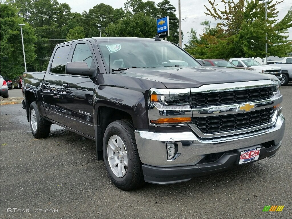 2016 tungsten metallic chevrolet silverado 1500 lt crew. Black Bedroom Furniture Sets. Home Design Ideas