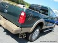 2012 Green Gem Metallic Ford F250 Super Duty King Ranch Crew Cab 4x4  photo #36