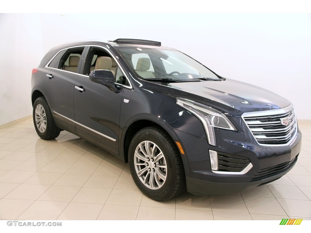2017 Dark Adriatic Blue Metallic Cadillac Xt5 Luxury 115450123 Photo 9 Car