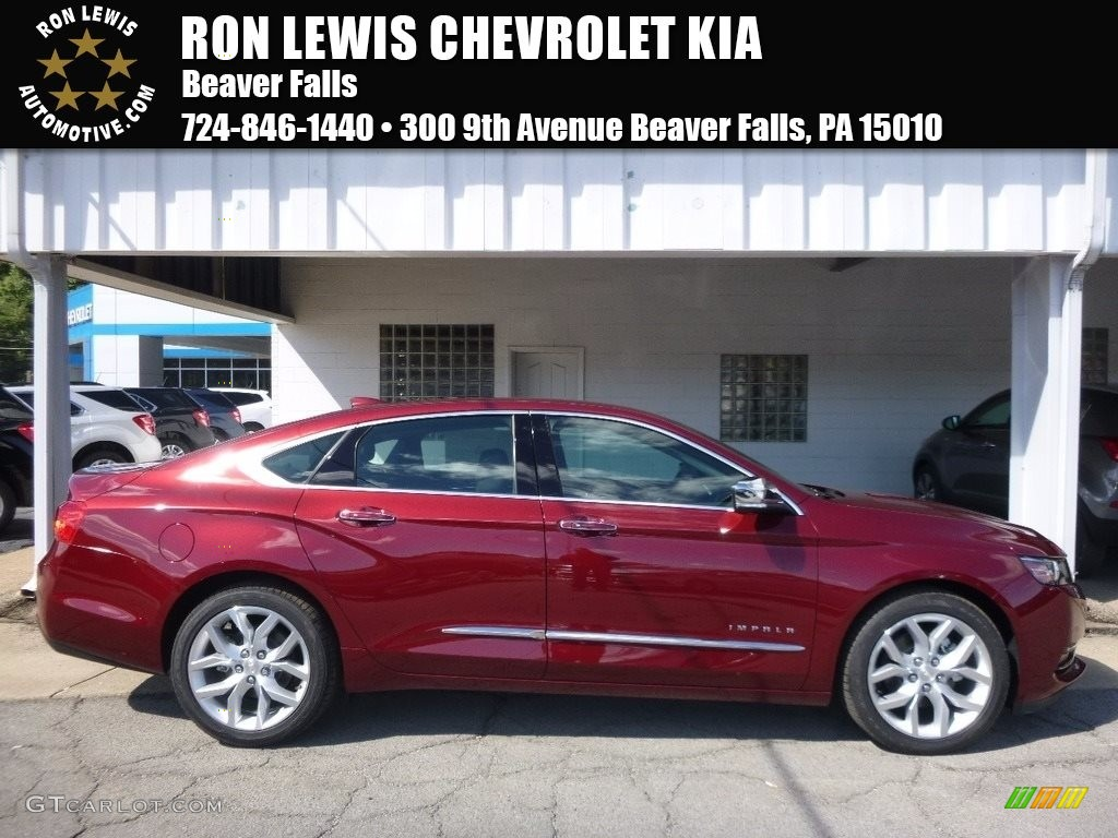 Siren Red Tintcoat Chevrolet Impala