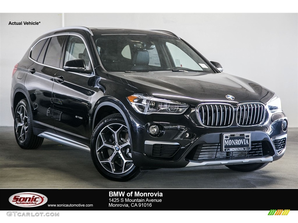 2017 black sapphire metallic bmw x1 xdrive28i 115449993. Black Bedroom Furniture Sets. Home Design Ideas