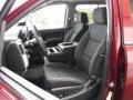 Jet Black Front Seat Photo for 2017 Chevrolet Silverado 1500 #115490350