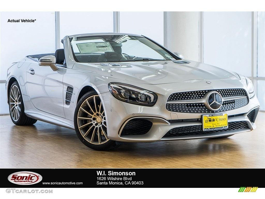 2017 iridium silver metallic mercedes benz sl 550 roadster for Mercedes benz sl 550