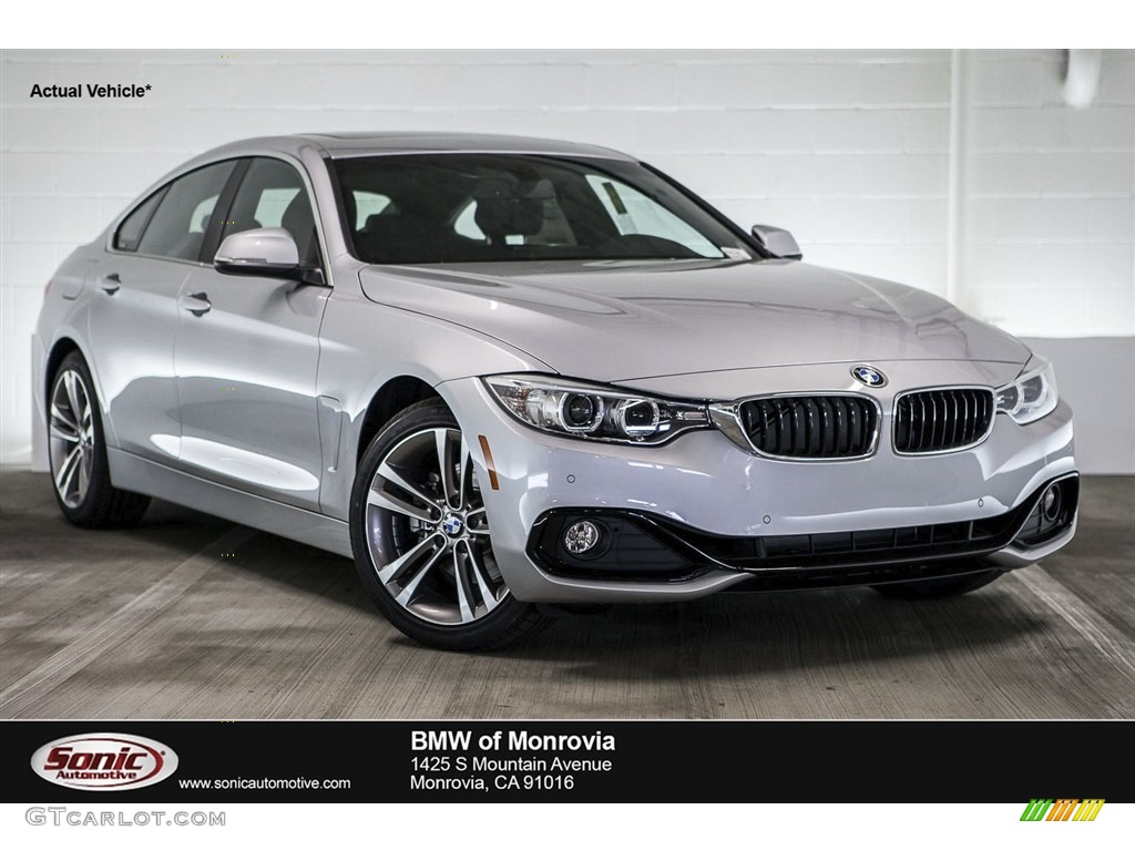 Glacier Silver Metallic BMW 4 Series