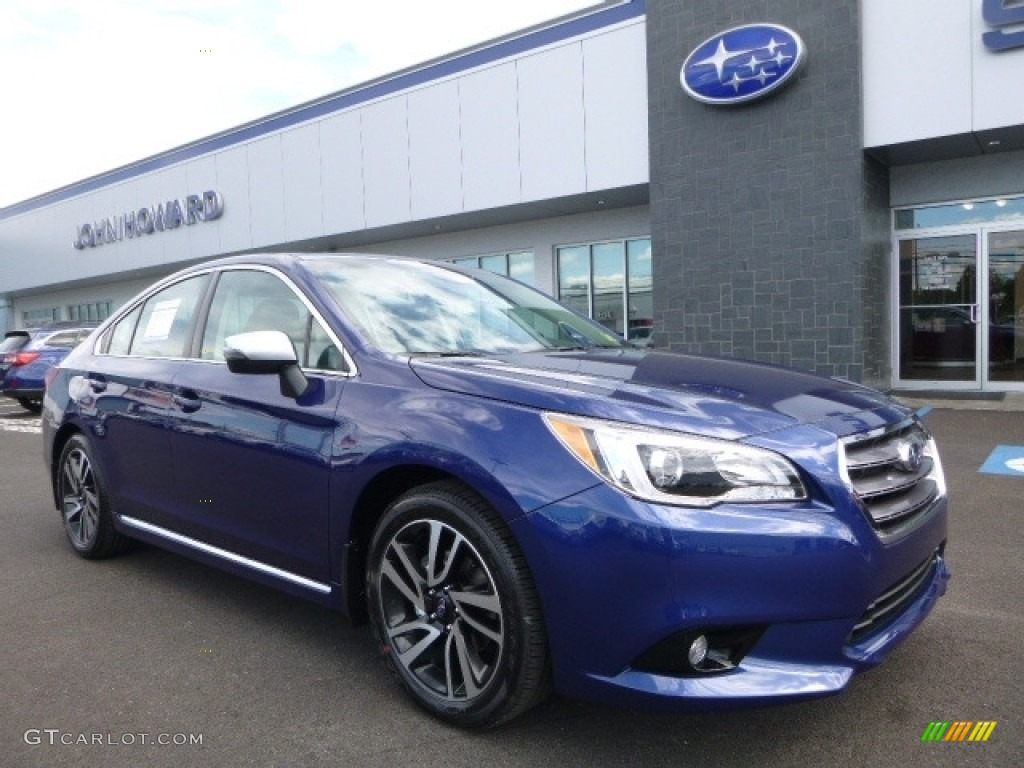 Lapis Blue Pearl Subaru Legacy