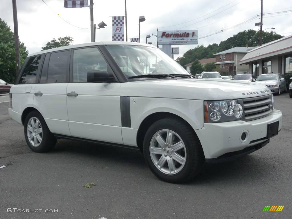2006 chawton white land rover range rover hse 11545207. Black Bedroom Furniture Sets. Home Design Ideas
