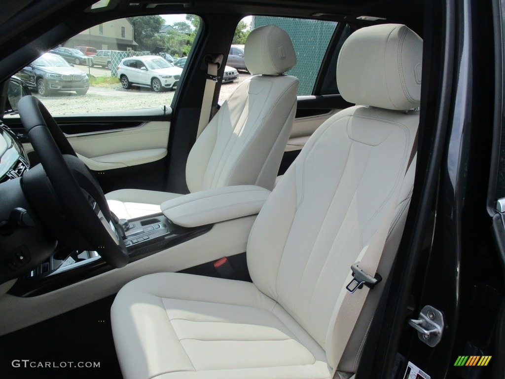 Ivory White Black Interior 2017 BMW X5 XDrive35i Photo 115538777